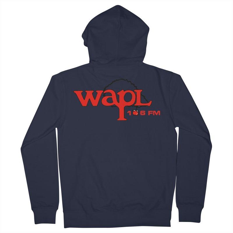 WAPL 80s 'Apple Tree' - Version 2 Women's Zip-Up Hoody by 105.7 WAPL Store