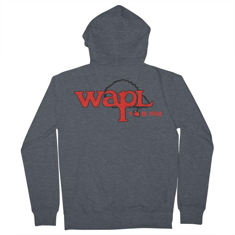 WAPL 80s 'Apple Tree' - Version 2 Men's Zip-Up Hoody by 105.7 WAPL Store