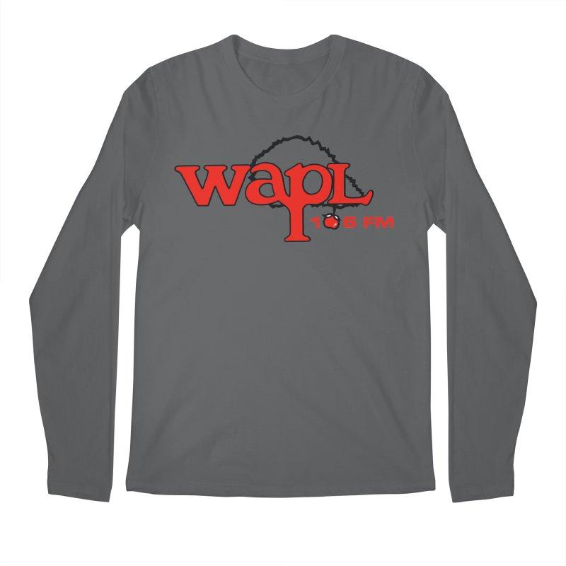 WAPL 80s 'Apple Tree' - Version 2 Men's Longsleeve T-Shirt by 105.7 WAPL Store
