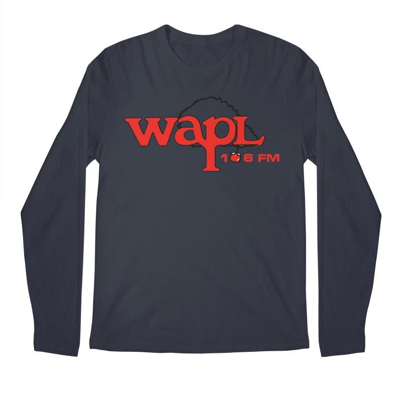 WAPL 80s 'Apple Tree' - Version 2 Men's Regular Longsleeve T-Shirt by 105.7 WAPL Web Store