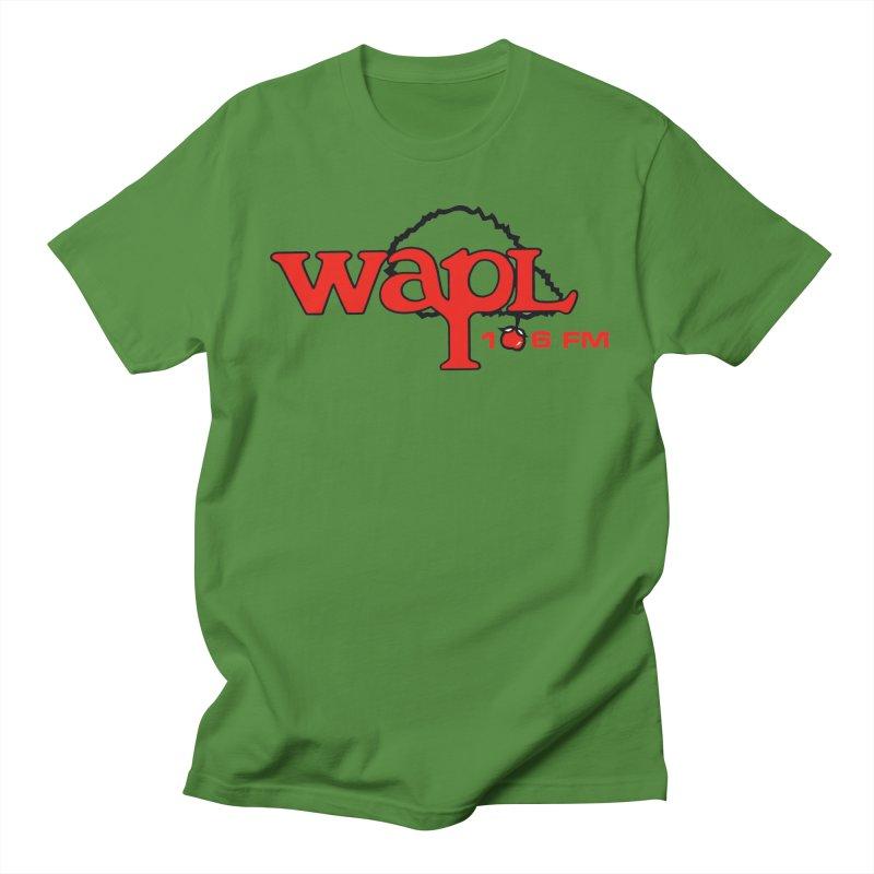 WAPL 80s 'Apple Tree' - Version 2 Men's Regular T-Shirt by 105.7 WAPL Web Store