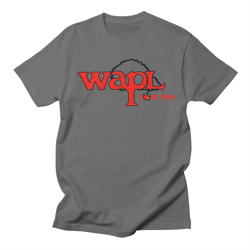 WAPL 80s 'Apple Tree' - Version 2 Men's T-Shirt by 105.7 WAPL Store