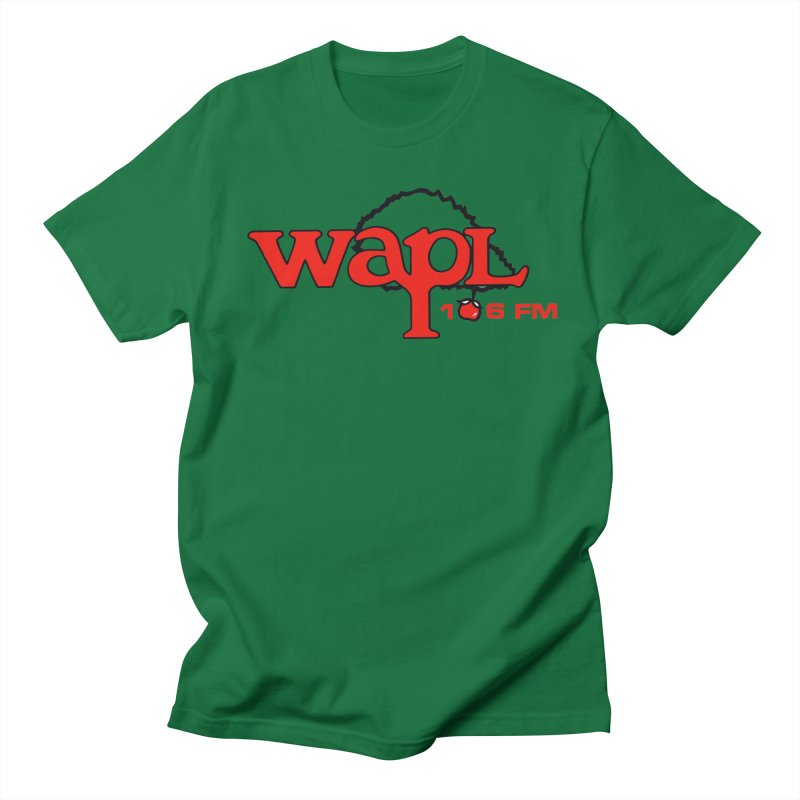 WAPL 80s 'Apple Tree' - Version 2 Women's Regular Unisex T-Shirt by 105.7 WAPL Web Store