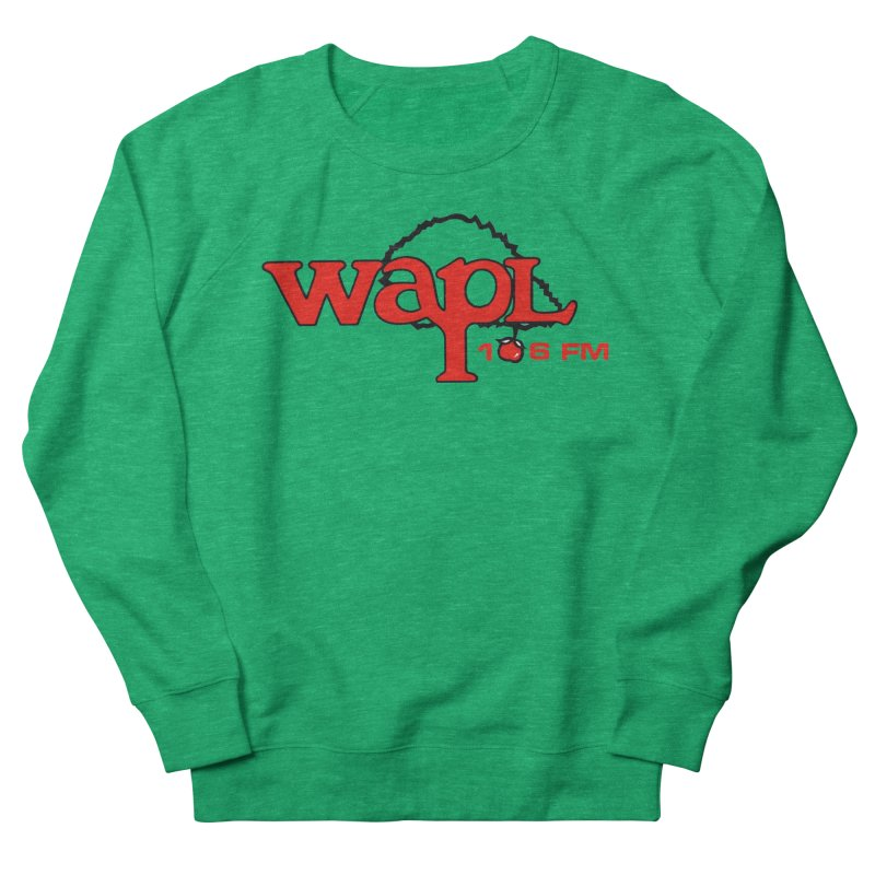 WAPL 80s 'Apple Tree' - Version 2 Women's Sweatshirt by 105.7 WAPL Store