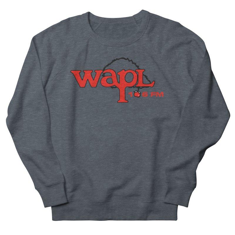 WAPL 80s 'Apple Tree' - Version 2 Women's French Terry Sweatshirt by 105.7 WAPL Web Store