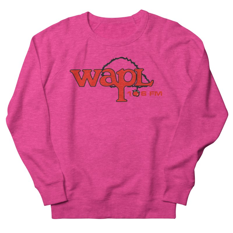 WAPL 80s 'Apple Tree' - Version 2 Men's French Terry Sweatshirt by 105.7 WAPL Web Store