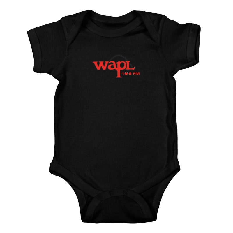 WAPL 80s 'Apple Tree' - Version 2 Kids Baby Bodysuit by 105.7 WAPL Web Store