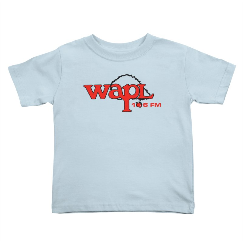WAPL 80s 'Apple Tree' - Version 2 Kids Toddler T-Shirt by 105.7 WAPL Web Store
