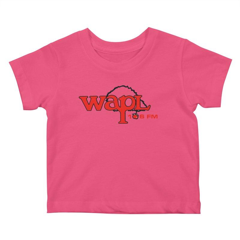 WAPL 80s 'Apple Tree' - Version 2 Kids Baby T-Shirt by 105.7 WAPL Web Store