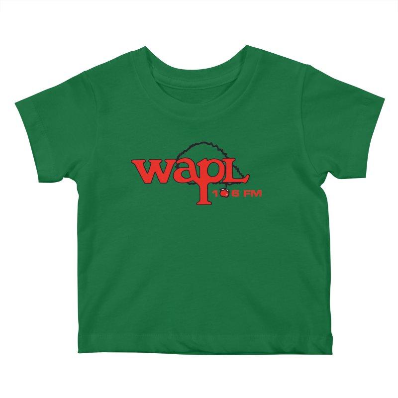 WAPL 80s 'Apple Tree' - Version 2 Kids Baby T-Shirt by 105.7 WAPL Store