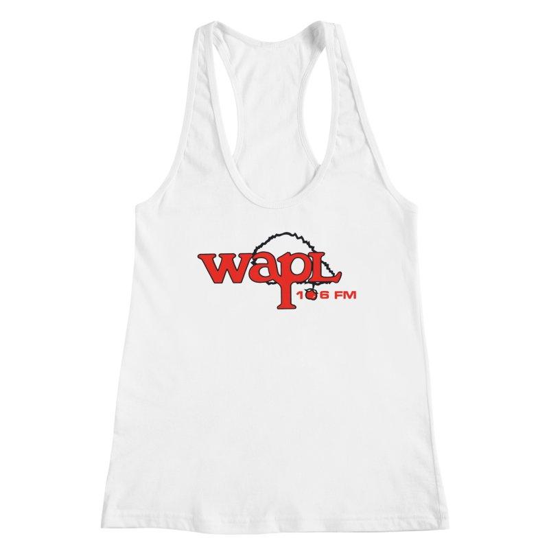WAPL 80s 'Apple Tree' - Version 2 Women's Tank by 105.7 WAPL Store