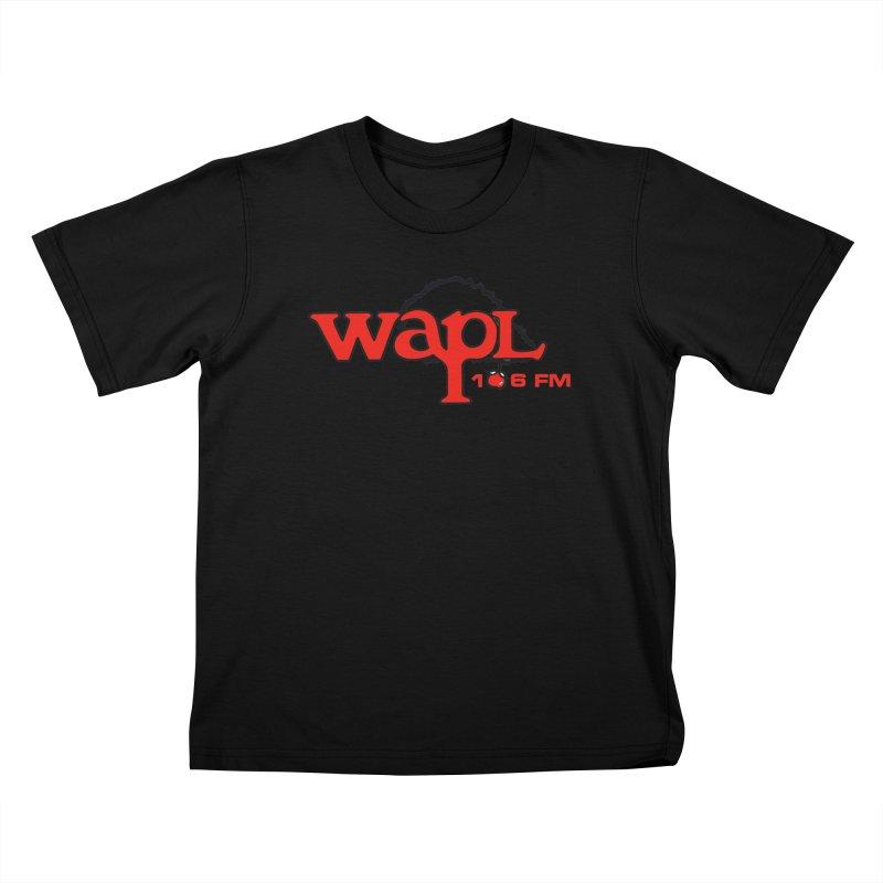 WAPL 80s 'Apple Tree' - Version 2 Kids T-Shirt by 105.7 WAPL Store