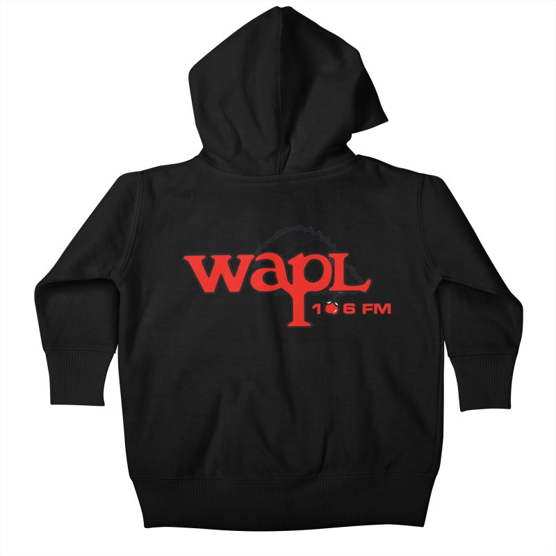 WAPL 80s 'Apple Tree' - Version 2 Kids Baby Zip-Up Hoody by 105.7 WAPL Web Store