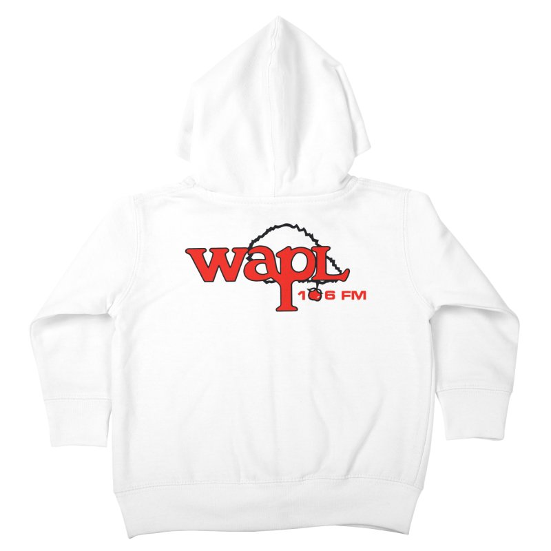 WAPL 80s 'Apple Tree' - Version 2 Kids Toddler Zip-Up Hoody by 105.7 WAPL Web Store