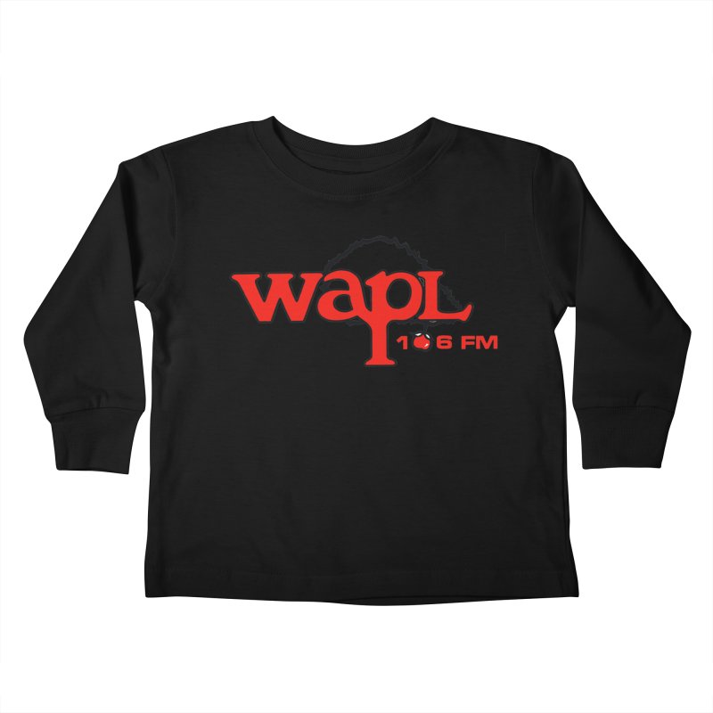 WAPL 80s 'Apple Tree' - Version 2 Kids Toddler Longsleeve T-Shirt by 105.7 WAPL Web Store