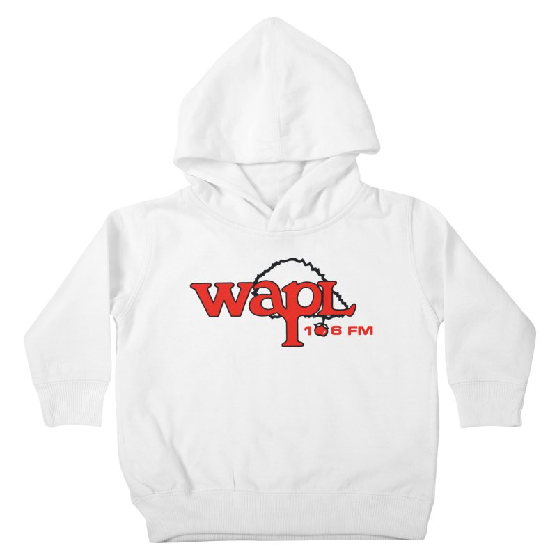 WAPL 80s 'Apple Tree' - Version 2 Kids Toddler Pullover Hoody by 105.7 WAPL Web Store