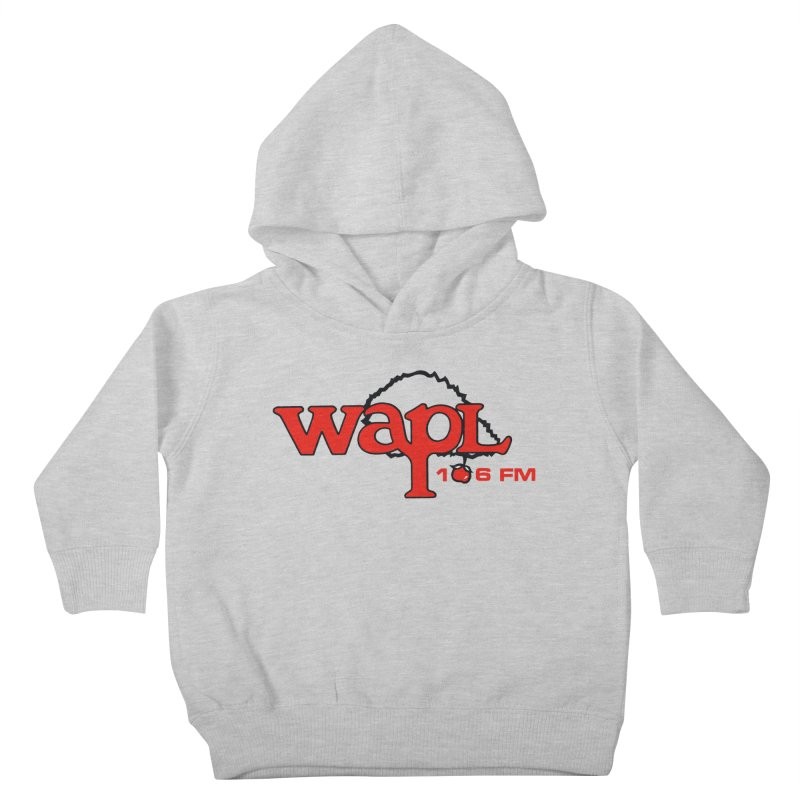 WAPL 80s 'Apple Tree' - Version 2 Kids Toddler Pullover Hoody by 105.7 WAPL Store