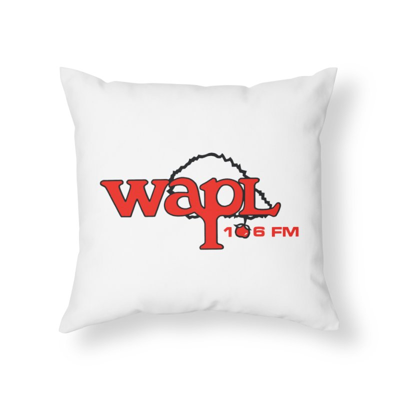 WAPL 80s 'Apple Tree' - Version 2 Home Throw Pillow by 105.7 WAPL Web Store