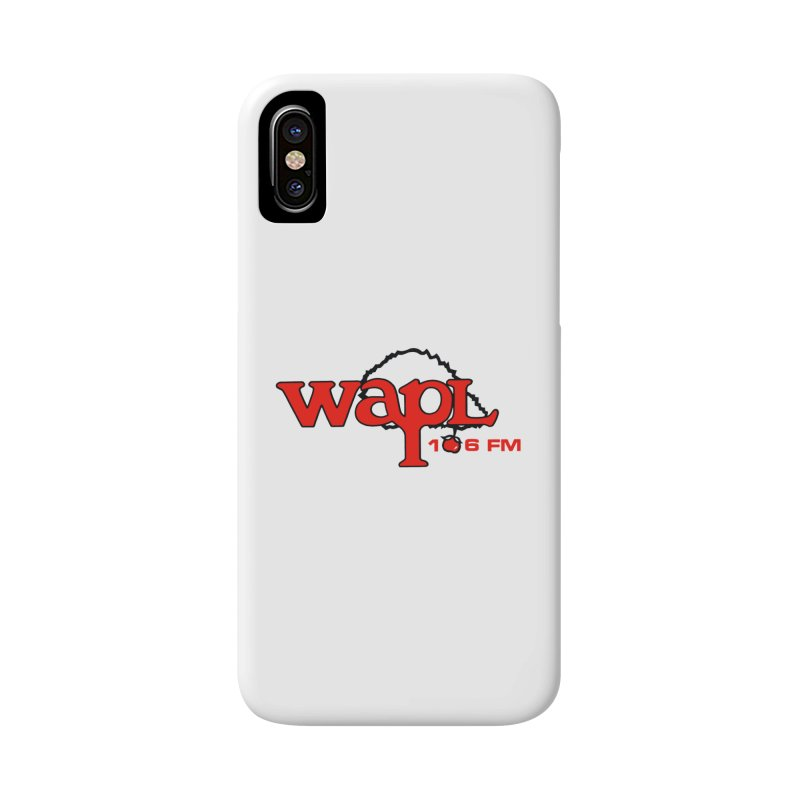 WAPL 80s 'Apple Tree' - Version 2 Accessories Phone Case by 105.7 WAPL Web Store