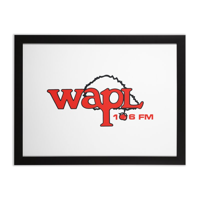 WAPL 80s 'Apple Tree' - Version 2 Home Framed Fine Art Print by 105.7 WAPL Web Store