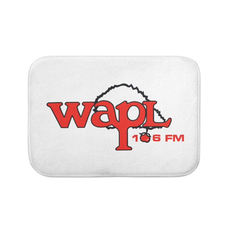 WAPL 80s 'Apple Tree' - Version 2 Home Bath Mat by 105.7 WAPL Web Store