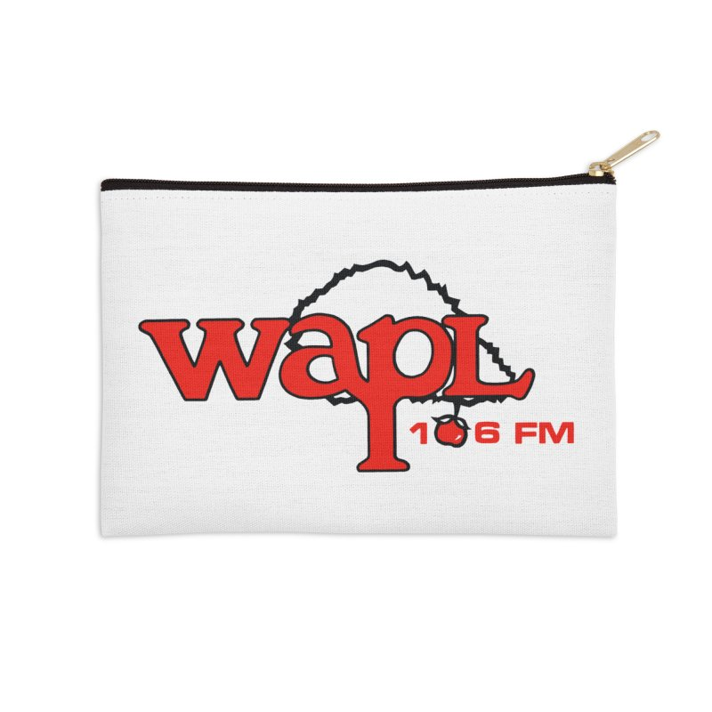 WAPL 80s 'Apple Tree' - Version 2 Accessories Zip Pouch by 105.7 WAPL Web Store