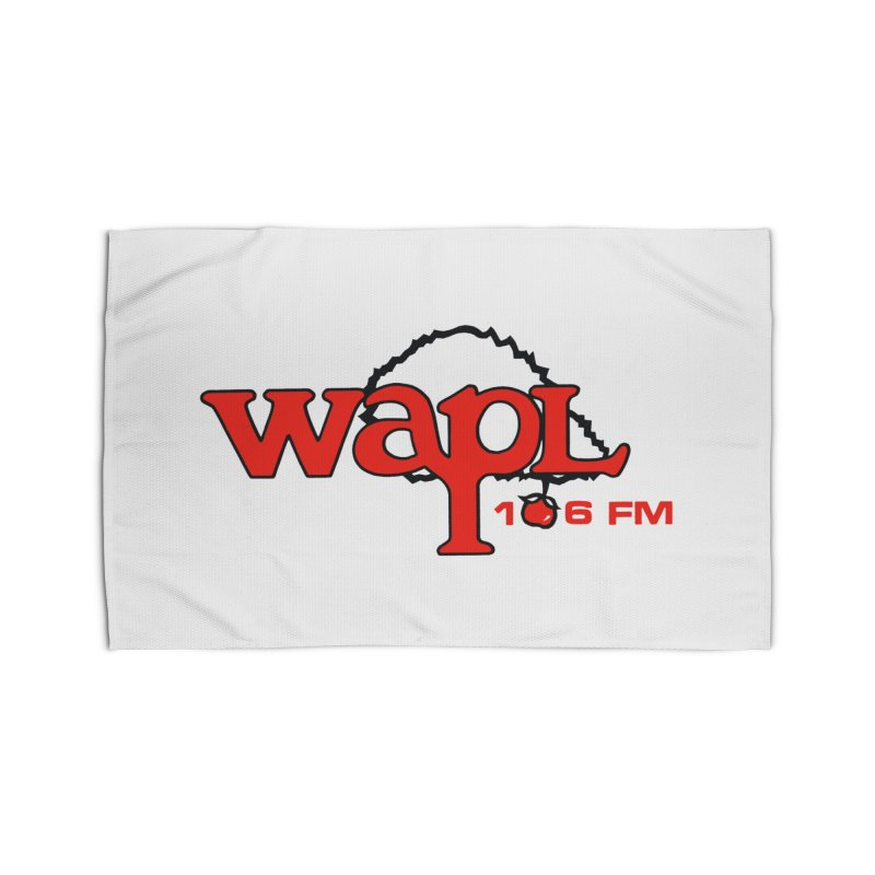 WAPL 80s 'Apple Tree' - Version 2 Home Rug by 105.7 WAPL Web Store