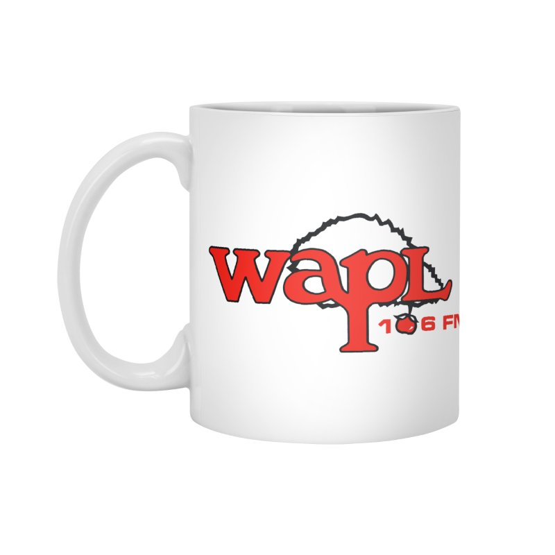 WAPL 80s 'Apple Tree' - Version 2 Accessories Standard Mug by 105.7 WAPL Web Store