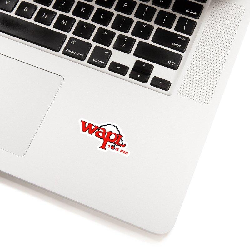 WAPL 80s 'Apple Tree' - Version 2 Accessories Sticker by 105.7 WAPL Store