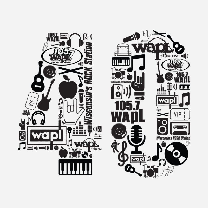 WAPL 40th Anniversary by 105.7 WAPL Web Store