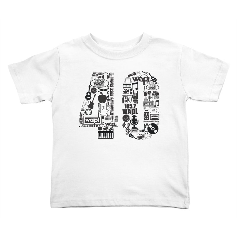 WAPL 40th Anniversary Kids Toddler T-Shirt by 105.7 WAPL Web Store