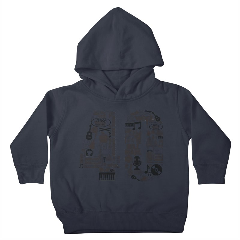 WAPL 40th Anniversary Kids Toddler Pullover Hoody by 105.7 WAPL Web Store