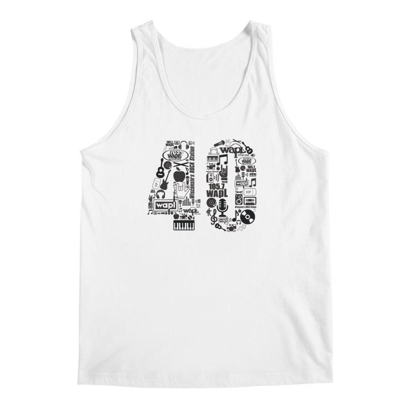 WAPL 40th Anniversary Men's Regular Tank by 105.7 WAPL Web Store