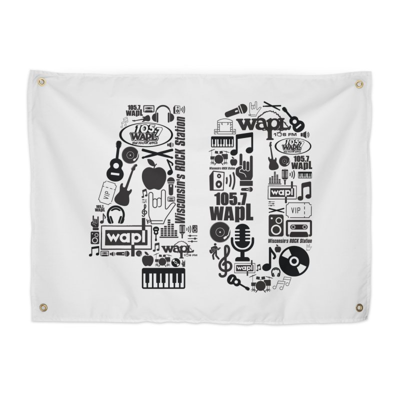 WAPL 40th Anniversary Home Tapestry by 105.7 WAPL Web Store