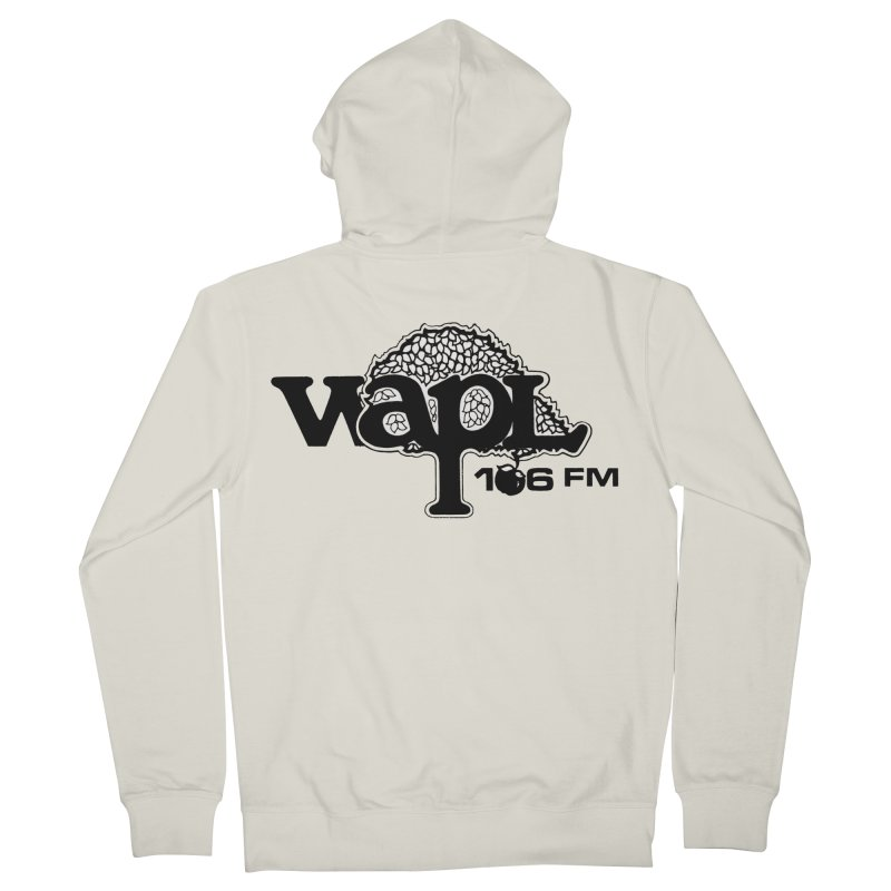 WAPL 80s 'Apple Tree' - Version 1 Women's French Terry Zip-Up Hoody by 105.7 WAPL Web Store