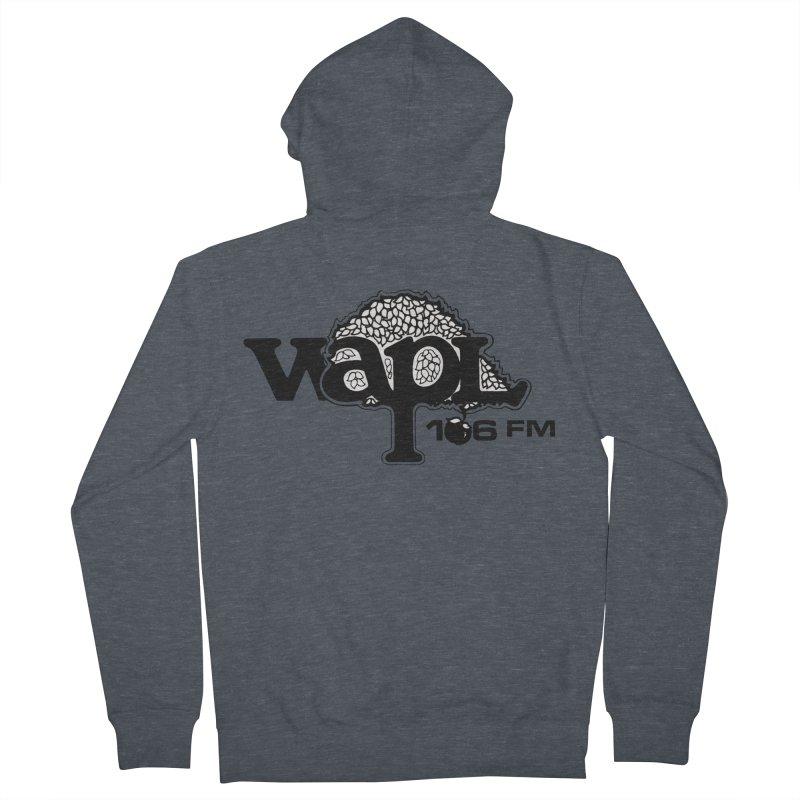 WAPL 80s 'Apple Tree' - Version 1 Men's French Terry Zip-Up Hoody by 105.7 WAPL Web Store