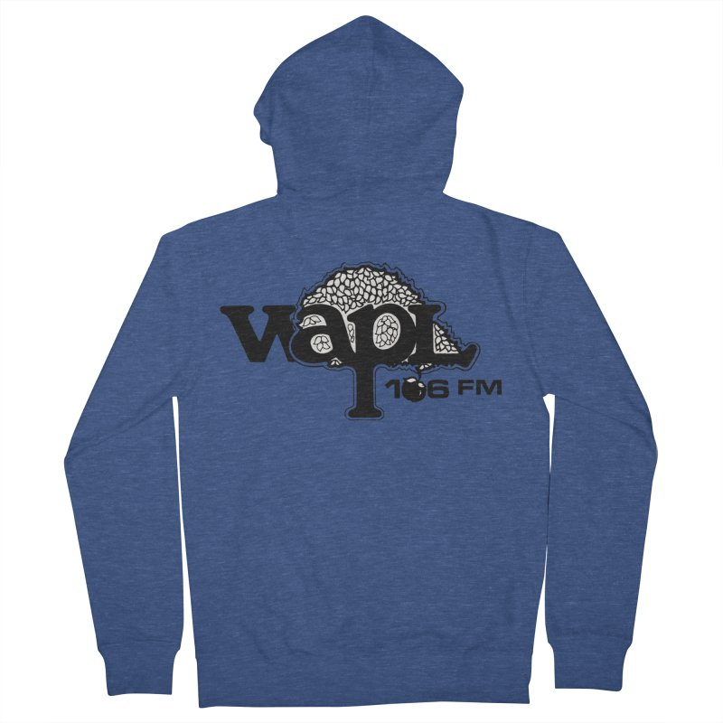 WAPL 80s 'Apple Tree' - Version 1 Men's French Terry Zip-Up Hoody by 105.7 WAPL Web Store