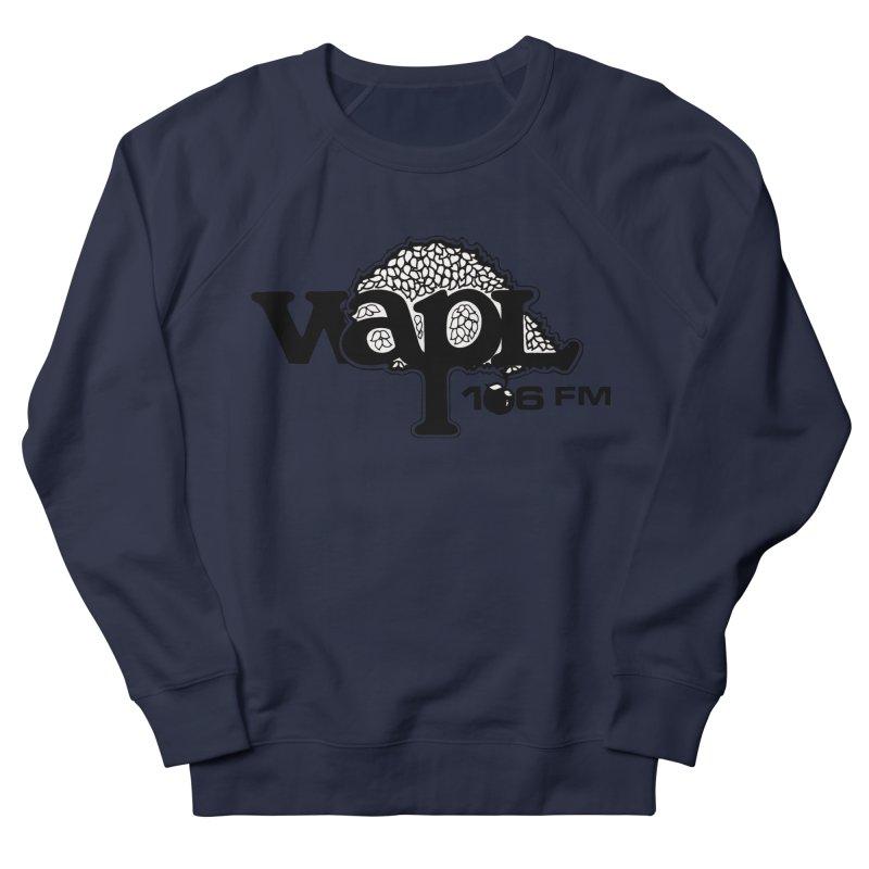 WAPL 80s 'Apple Tree' - Version 1 Men's French Terry Sweatshirt by 105.7 WAPL Web Store