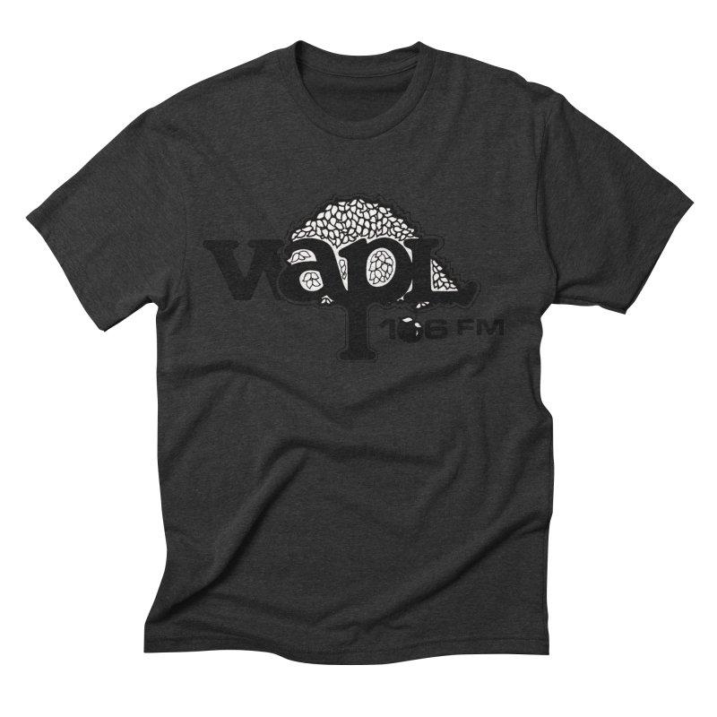 WAPL 80s 'Apple Tree' - Version 1 Men's Triblend T-Shirt by 105.7 WAPL Web Store