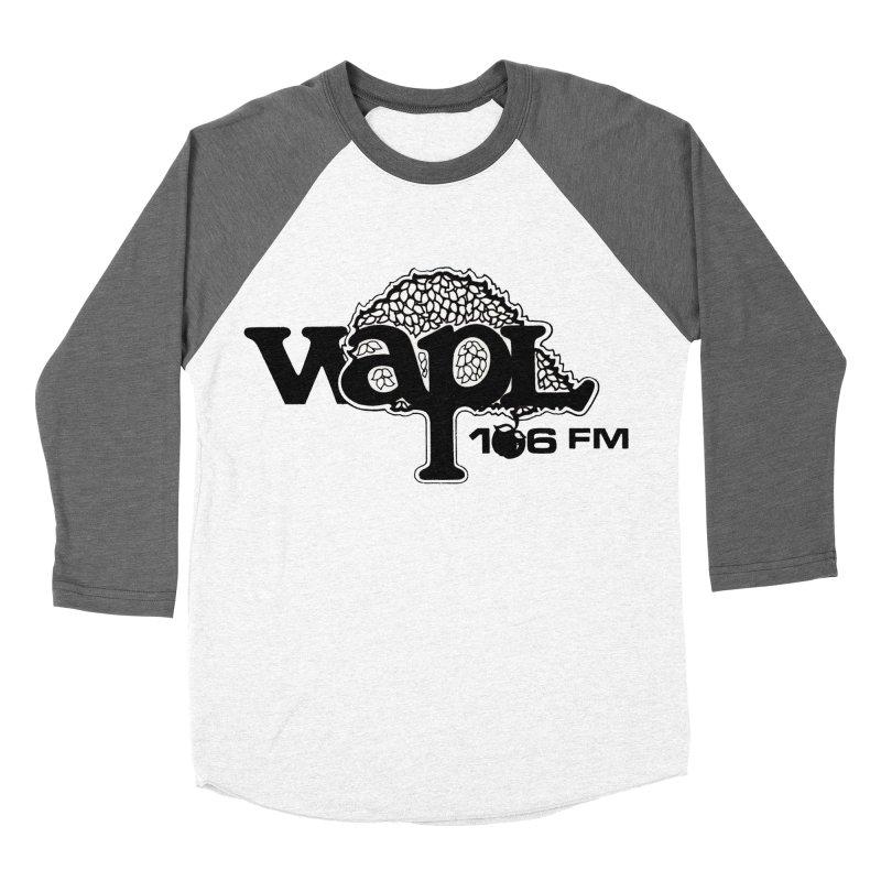 WAPL 80s 'Apple Tree' - Version 1 Women's Baseball Triblend Longsleeve T-Shirt by 105.7 WAPL Web Store