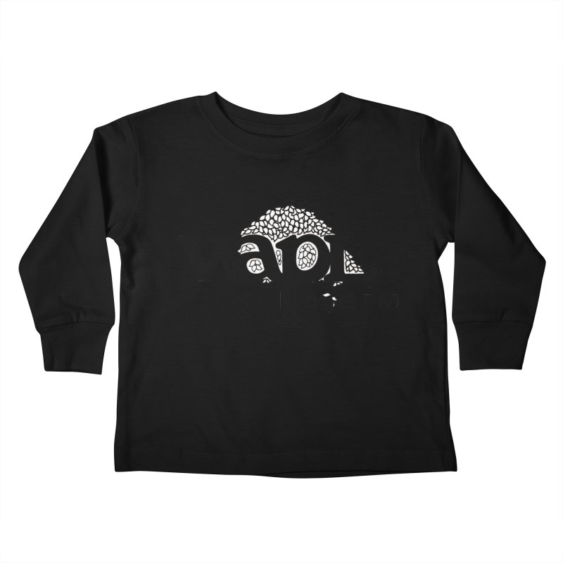WAPL 80s 'Apple Tree' - Version 1 Kids Toddler Longsleeve T-Shirt by 105.7 WAPL Web Store