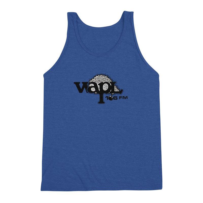 WAPL 80s 'Apple Tree' - Version 1 Men's Triblend Tank by 105.7 WAPL Web Store