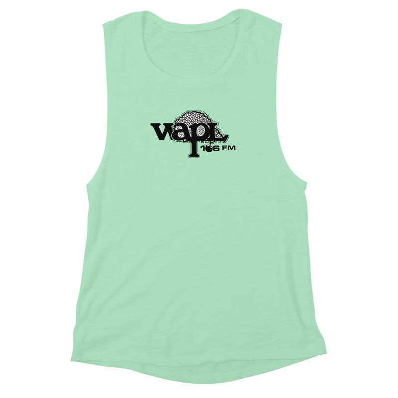 WAPL 80s 'Apple Tree' - Version 1 Women's Muscle Tank by 105.7 WAPL Web Store