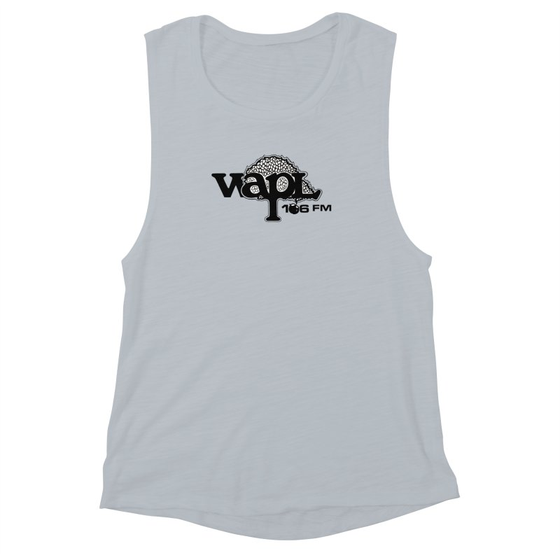 WAPL 80s 'Apple Tree' - Version 1 Women's Muscle Tank by 105.7 WAPL Web Store