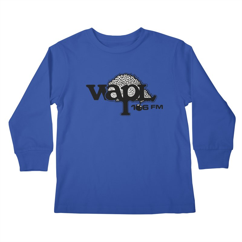 WAPL 80s 'Apple Tree' - Version 1 Kids Longsleeve T-Shirt by 105.7 WAPL Web Store