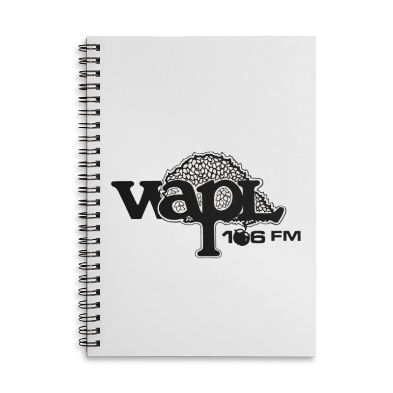 WAPL 80s 'Apple Tree' - Version 1 Accessories Lined Spiral Notebook by 105.7 WAPL Web Store