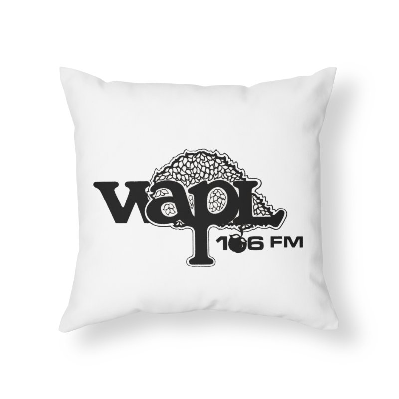 WAPL 80s 'Apple Tree' - Version 1 Home Throw Pillow by 105.7 WAPL Web Store