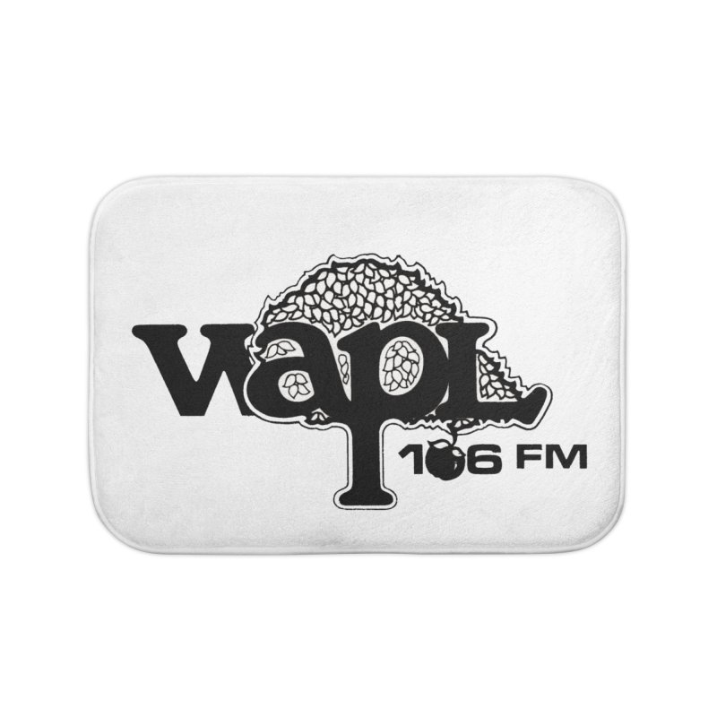 WAPL 80s 'Apple Tree' - Version 1 Home Bath Mat by 105.7 WAPL Store