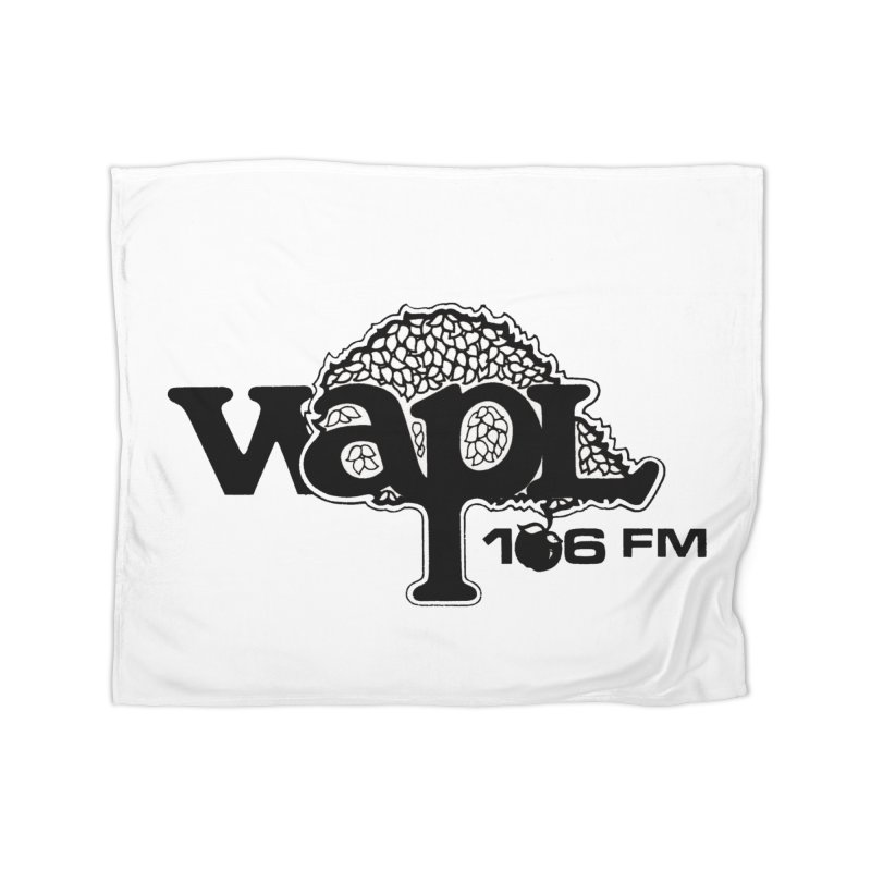 WAPL 80s 'Apple Tree' - Version 1 Home Fleece Blanket Blanket by 105.7 WAPL Web Store