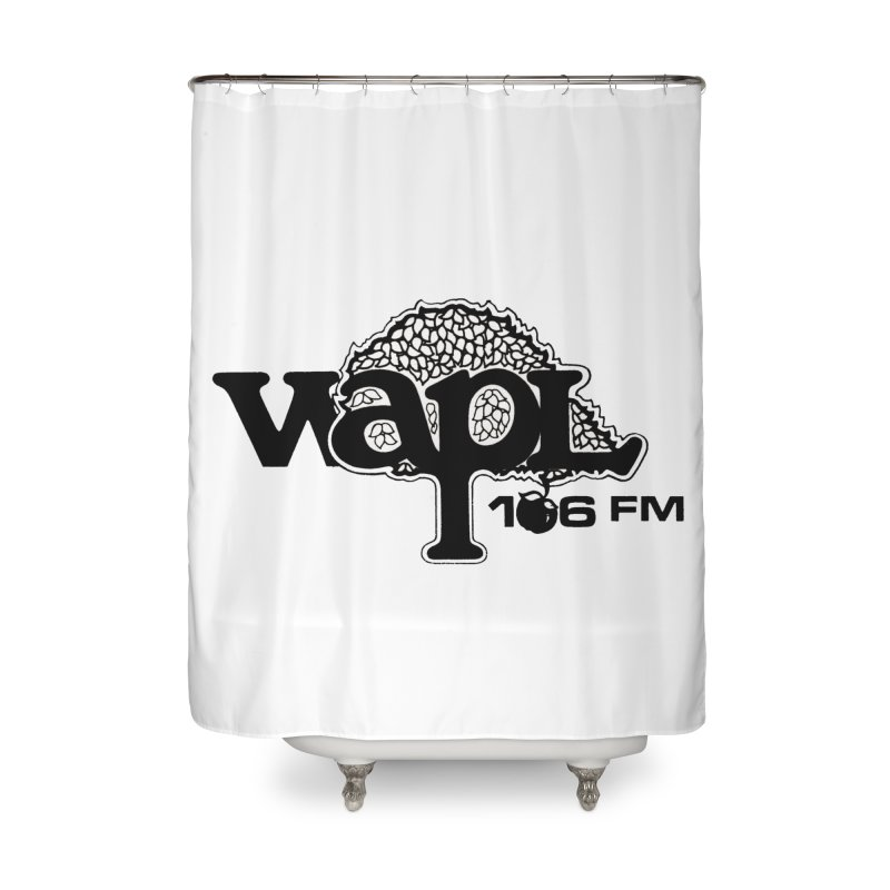 WAPL 80s 'Apple Tree' - Version 1 Home Shower Curtain by 105.7 WAPL Web Store